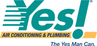 las vegas plumbers yes air conditioning and heating logo