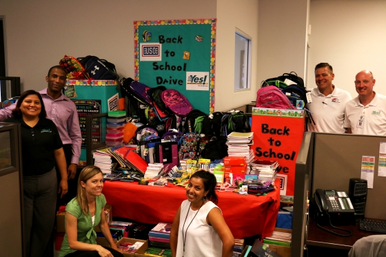 Yes! Air Conditioning and Plumbing Hosts School Supply Drive Las Vegas